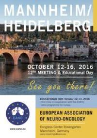 12th Meeting of the European Association of Neuro-Oncology